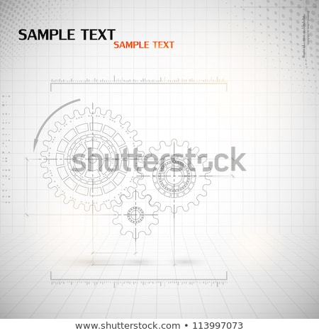 técnico · desenho · ilustração · escolas · lápis - foto stock © dayzeren