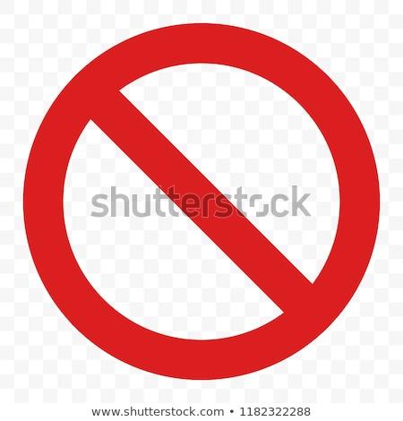 Podpisania zakazu pływanie bezpieczeństwa czerwony informacji Zdjęcia stock © mayboro1964