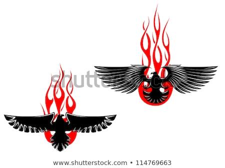 Címer alakú absztrakt ikon üzlet terv Stock fotó © cidepix