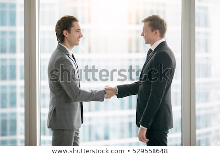 Male executive ready to attend meeting Stock photo © stockyimages