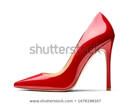 bastante · piernas · moda · zapatos · pies · pie - foto stock © BVDC