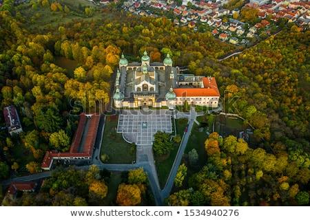 Hac kilise Çek Cumhuriyeti Bina mimari Avrupa Stok fotoğraf © phbcz
