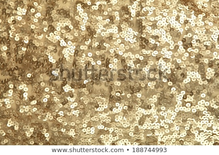 Golden sequin dress Stock photo © gsermek
