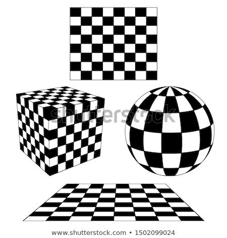 Chess Cube Stock photo © idesign