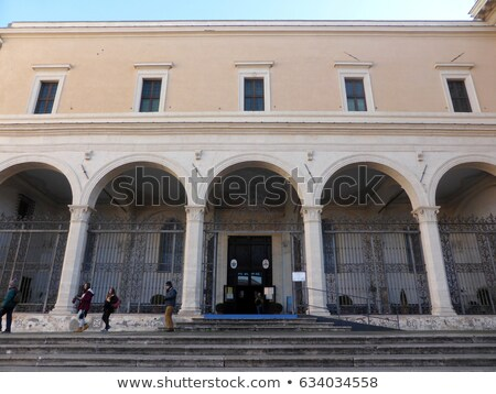 San Pietro in Vincoli, Rome, Italy Stock photo © Dserra1