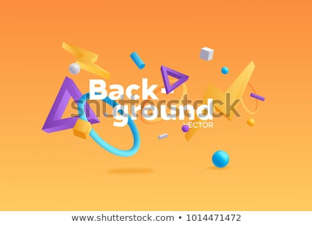 abstract 3d geometrical design stock photo © helenstock