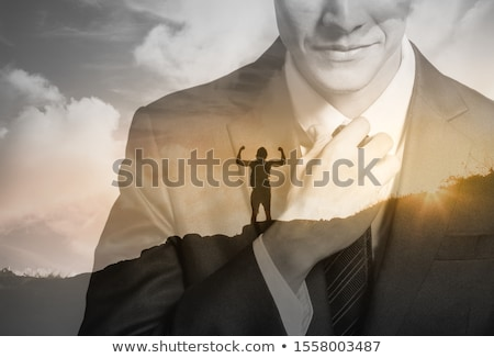 Business papier boot water Stockfoto © Lightsource