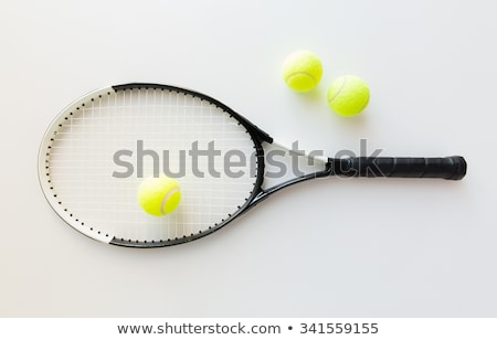 three table tennis rackets Stock photo © mayboro1964