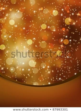 веселый · Рождества · звезды · прибыль · на · акцию · bokeh · фары - Сток-фото © beholdereye