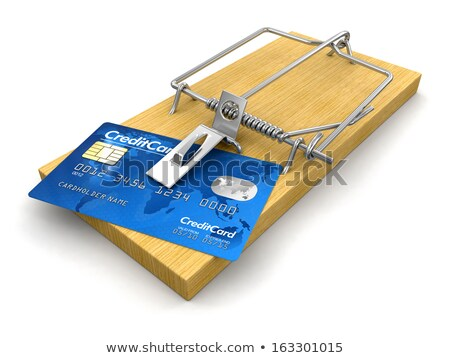 Credit Card Trap Stock photo © idesign