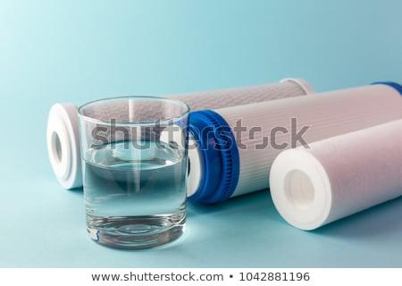 Wody charakter pić czyste ludzi płynnych Zdjęcia stock © ozaiachin