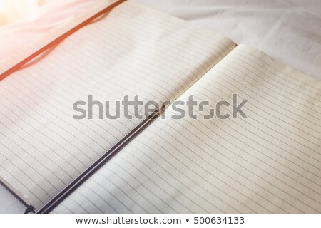 Vintage Book with Blank Pages on the Carpet Floor Stock photo © stevanovicigor