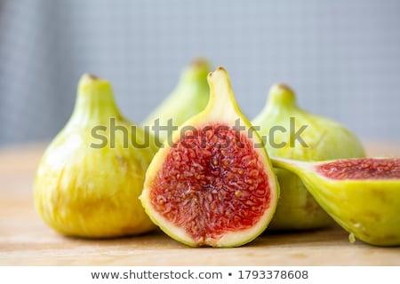 maduro · figo · três · delicioso · fresco · comida - foto stock © IngridsI