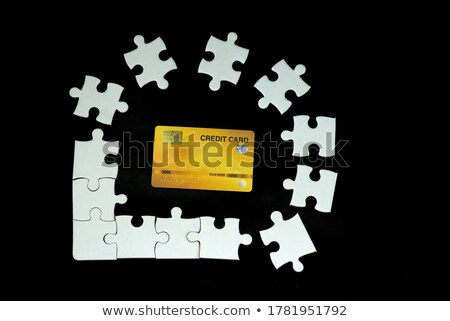 Deposit - Jigsaw Puzzle with Missing Pieces. Stock photo © tashatuvango