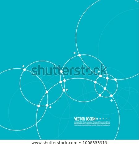 Soyut circles duvar kağıdı grafik fikir stil Stok fotoğraf © teerawit