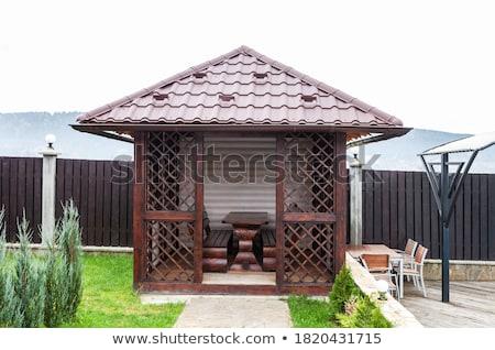 плиточные крыши гальванизированный Сток-фото © bubutu