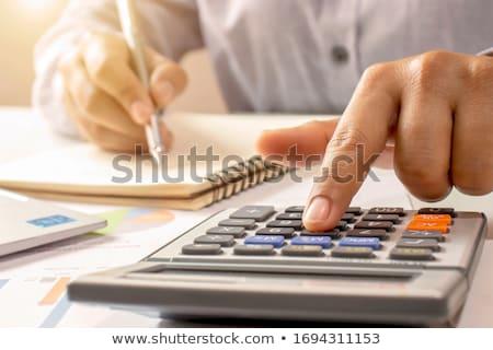 заем сведению деловой человек игрушками бизнесмен группа Сток-фото © fuzzbones0