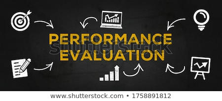 Performance Evaluation Stock photo © rojoimages