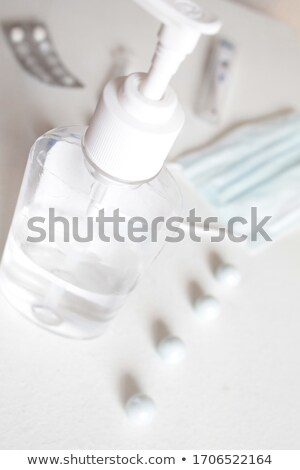 Homeopathy - Medical Concept. Composition of Medicament. Stock photo © tashatuvango