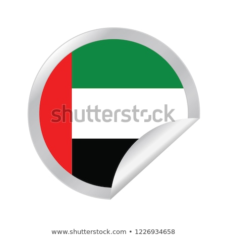 Egyesült Arab Emírségek Tádzsikisztán zászlók puzzle izolált fehér Stock fotó © Istanbul2009