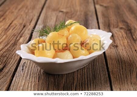 パリジャン · 皿 · 小 · ジャガイモ - ストックフォト © digifoodstock