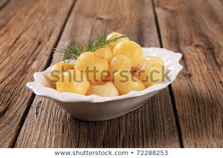 Parisiense batatas prato pequeno batata Foto stock © Digifoodstock