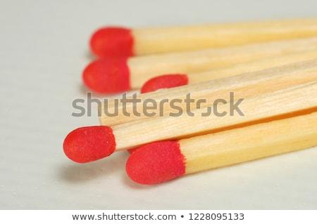 House hold safety matches pile Stock photo © stevanovicigor