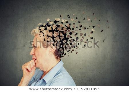 認知症 脳 損失 メモリ 問題 老化 ストックフォト © Lightsource