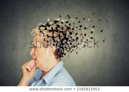 Dementia Brain Loss Stock photo © Lightsource