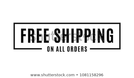 livraison · gratuite · livraison · de · colis · ordre · web · magasin - photo stock © adrenalina