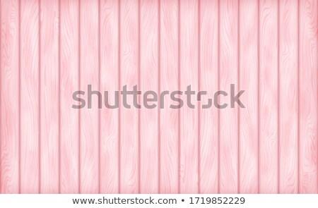 Parlak pembe ahşap boyalı yüzey Stok fotoğraf © ozgur