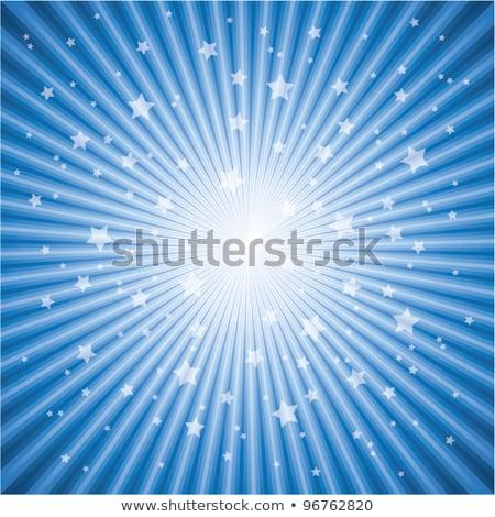 солнце звездой прибыль на акцию 10 черно белые Сток-фото © beholdereye