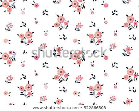Cute semplice modello di fiore texture sfondo tessuto Foto d'archivio © SArts