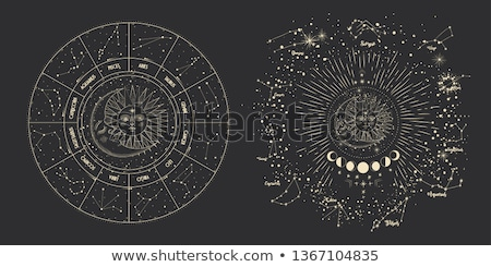 Set Of Stars And Moon Stock photo © adamson