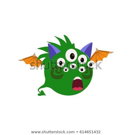 korkutucu · serin · canavar · avatar · vektör - stok fotoğraf © loud-mango