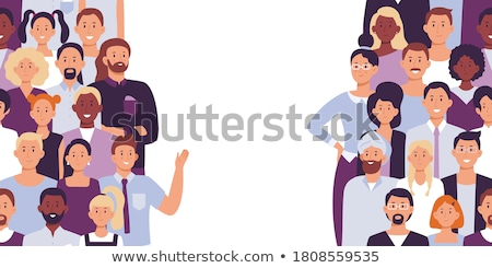 Divided Groups Stock photo © Lightsource