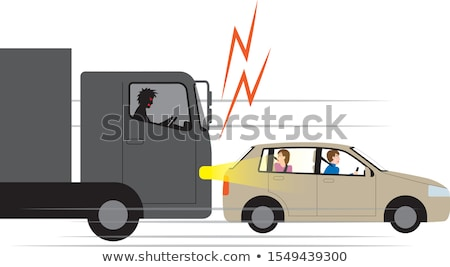 Road Rage Crime Stock photo © Lightsource
