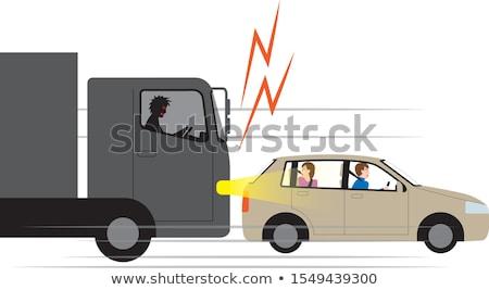 weg · woede · verkeer · symbool · metafoor - stockfoto © lightsource