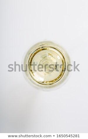 üres pezsgő üveg felső kilátás izolált Stock fotó © Cipariss