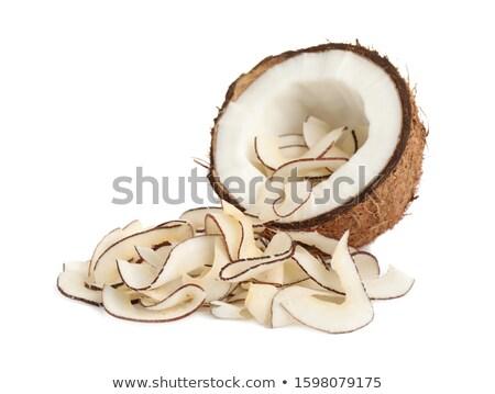 Coco batatas fritas branco Foto stock © Digifoodstock