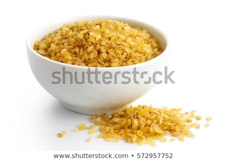 dry wheat bulgur Stock photo © Digifoodstock