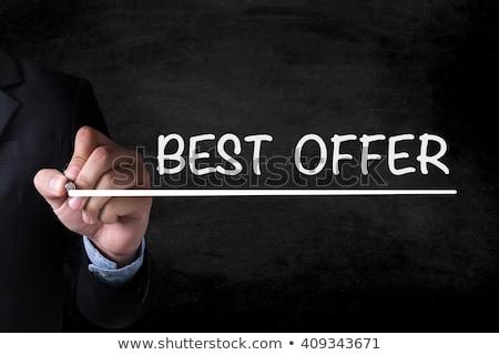 Best Offers on Red Ring Binder. Blurred, Toned Image. Stock photo © tashatuvango