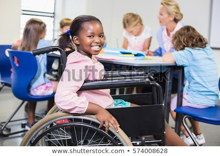 woman in wheelchair with child Stock photo © IS2