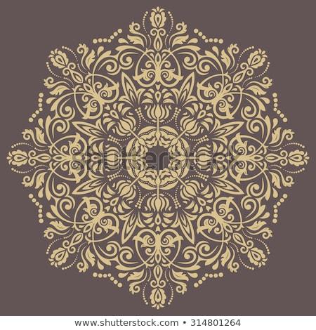 オリエンタル ベクトル パターン 要素 ヴィンテージ 抽象的な ストックフォト © balasoiu