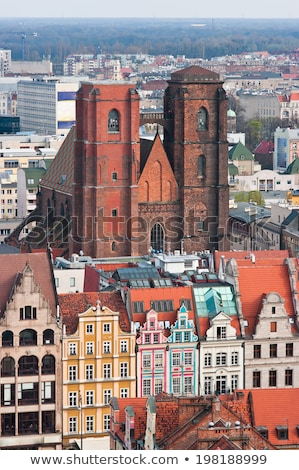 Church of St. Mary Magdalene in Wroclaw Stock photo © benkrut