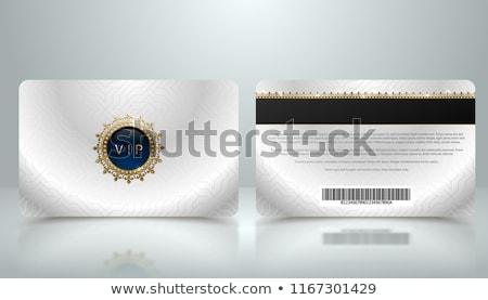 銀 · メンバー · vip · カード · 光 · ディスコ - ストックフォト © iaroslava