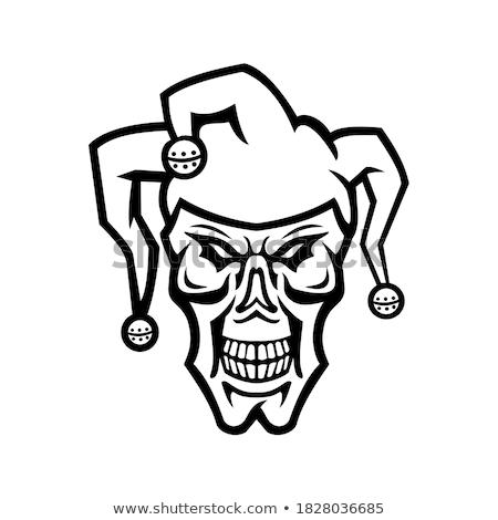 Jester Head Mascot Stock photo © patrimonio