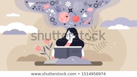 чтение написанный текста люди, работающие Сток-фото © robuart