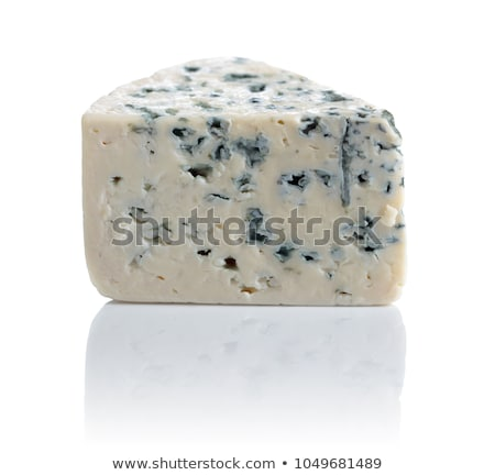 A wedge of blue cheese Stock photo © Alex9500