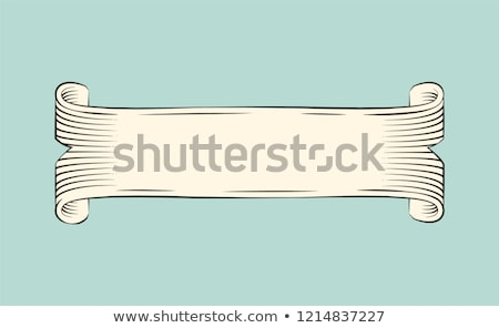 Obsolete Papyrus Scroll for Vintage Ornamentation Stock photo © robuart